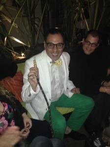 Luis Machicao at Tabbuli for White Haute Nights